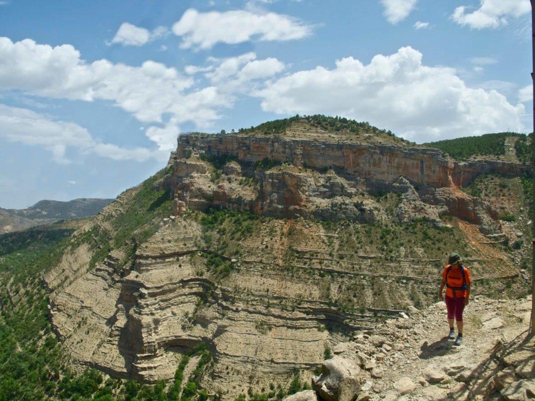 Pitarque landscape