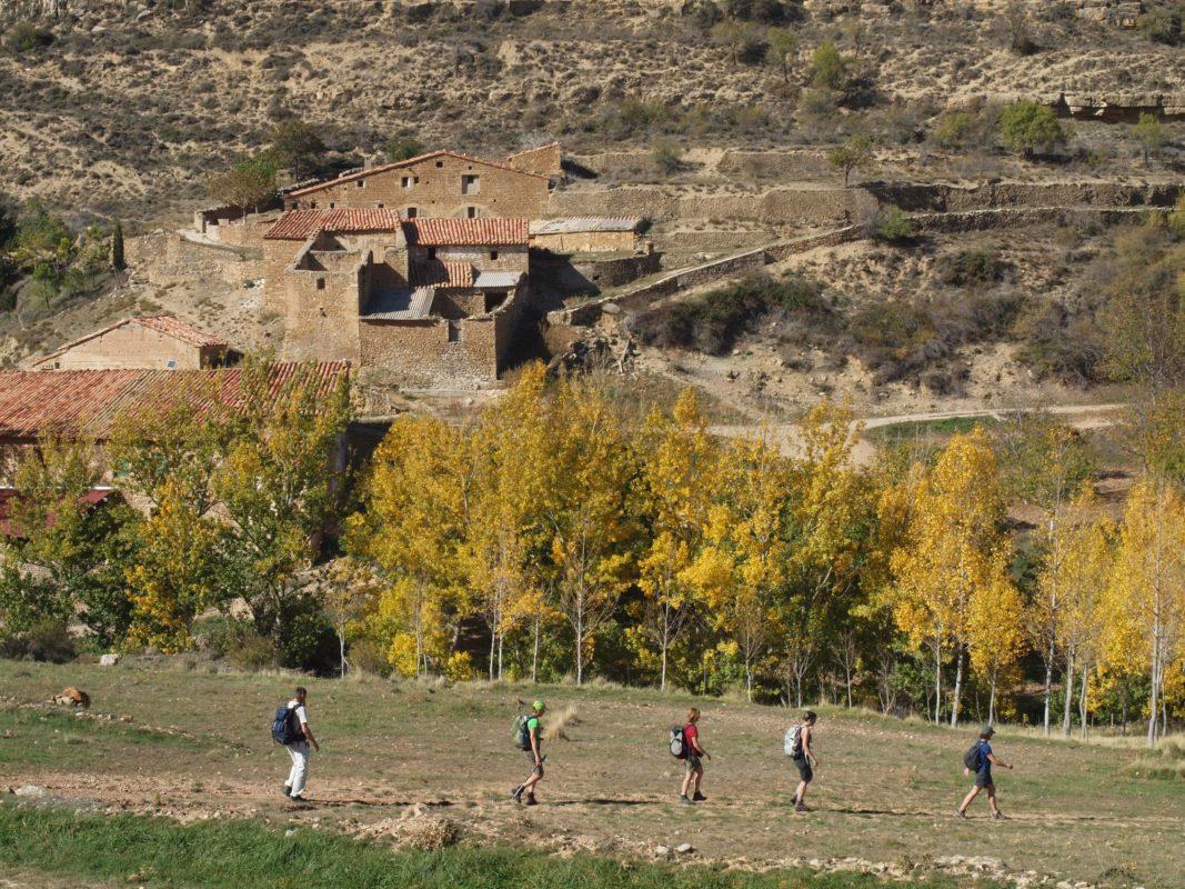 Ancient route GR8 Spain