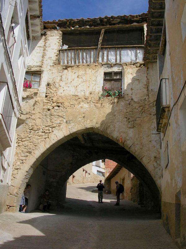 Cuevas Canart arch