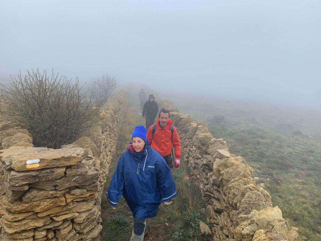 Dry stone trail ruta El Cid