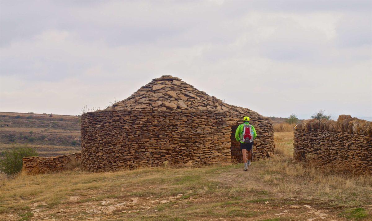 La Iglesuela dry walling hut