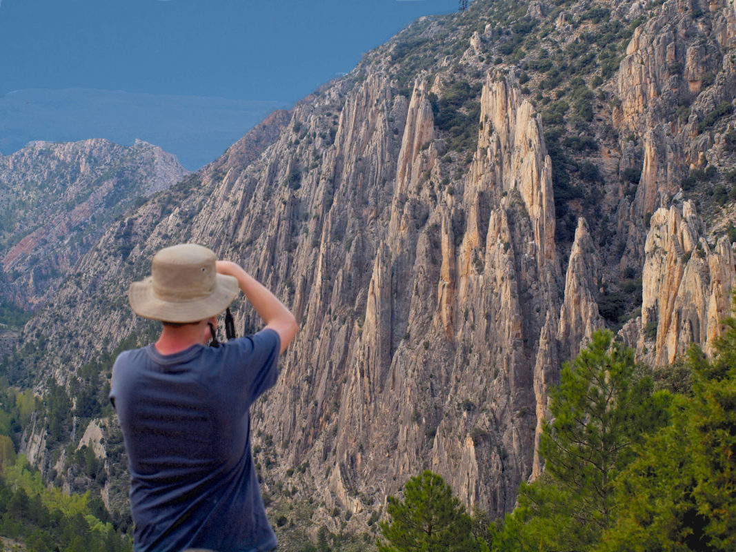 Famous Spanish scenic cliffs