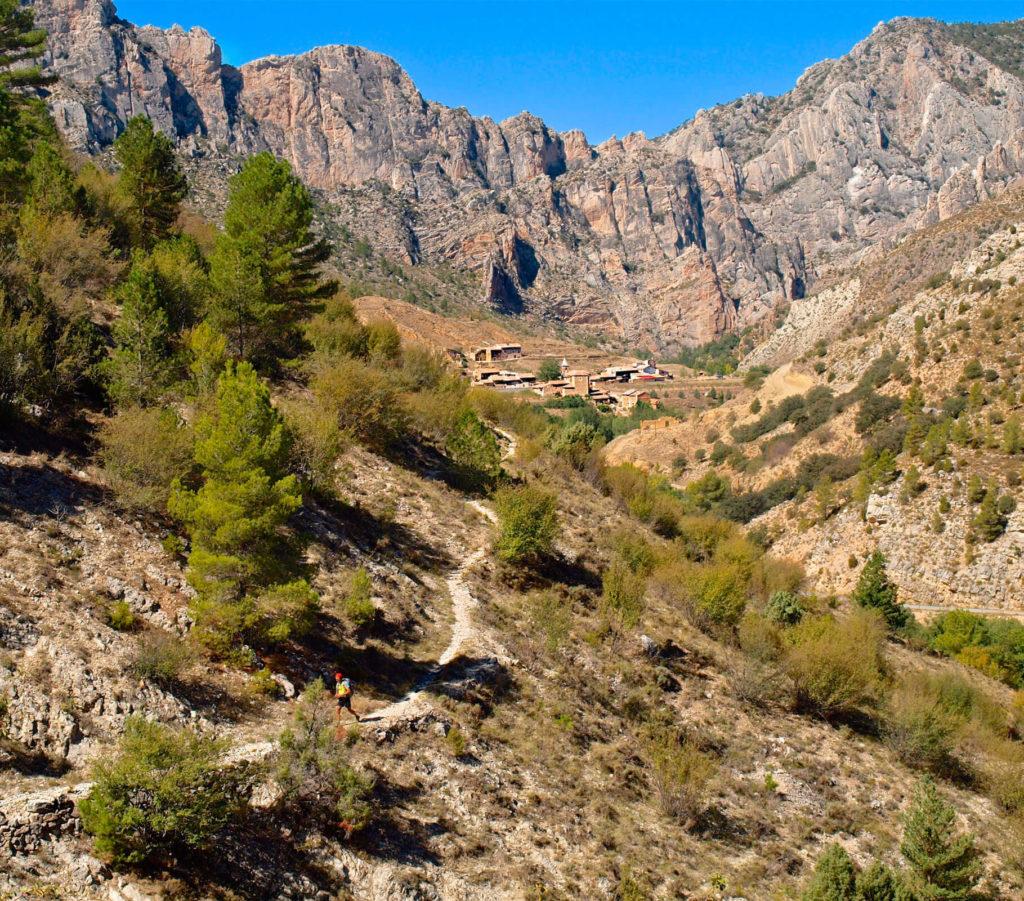 view of Montoro village