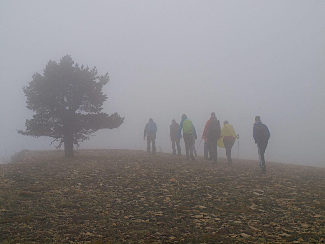 Romantic foggy in Maestrazgo