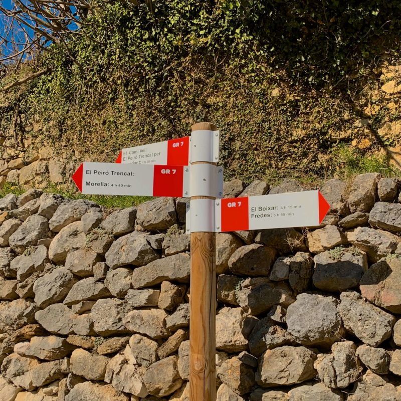 GR7 to Morella