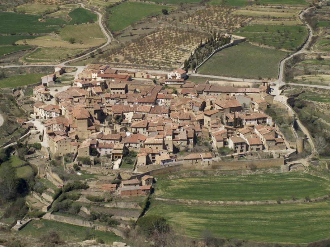 Mirambel village