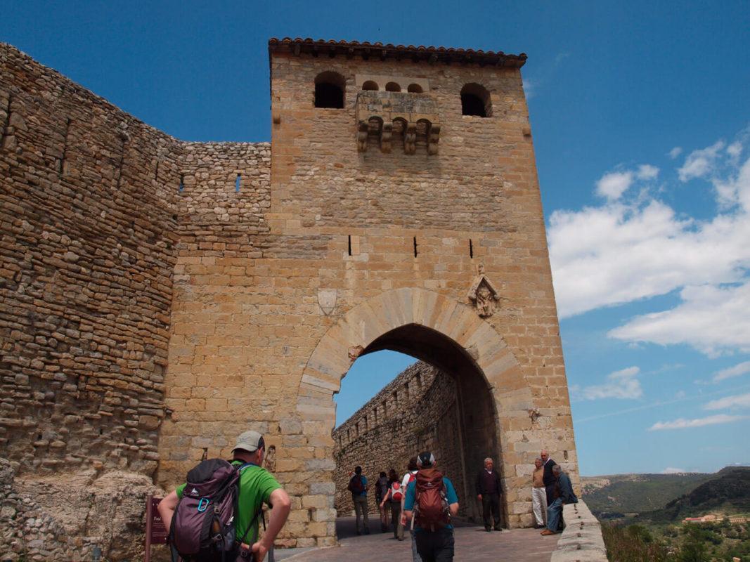 Saint Mateo Gate Morella