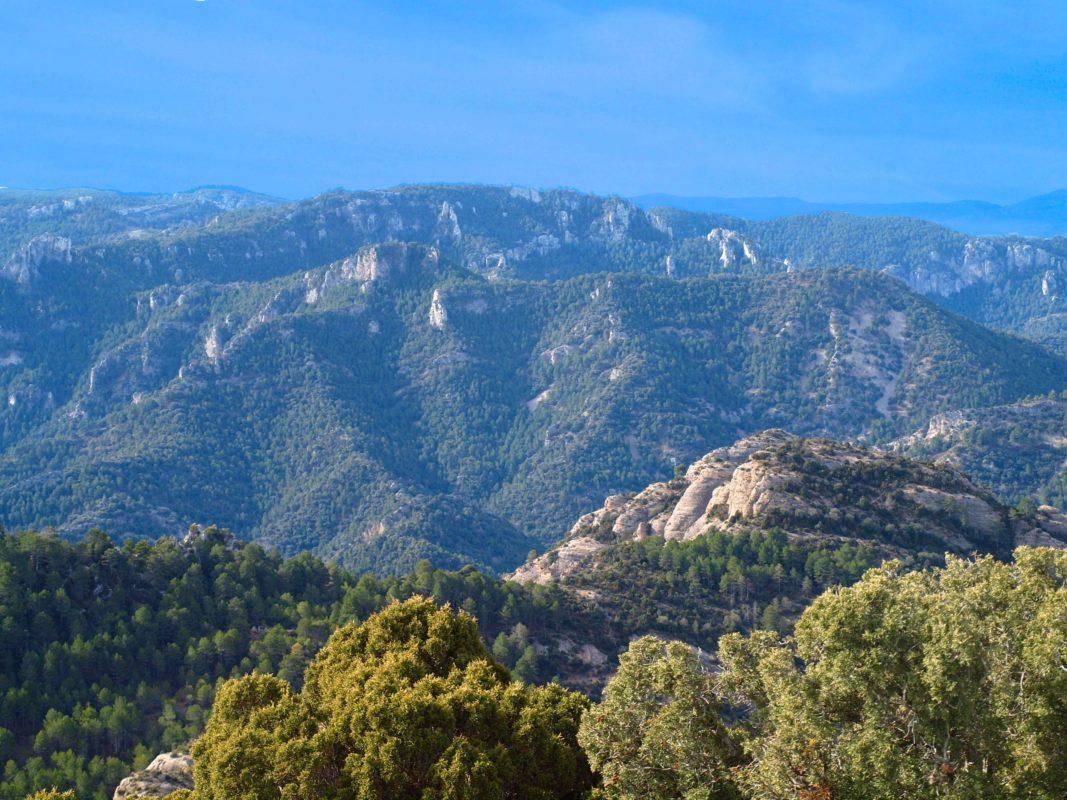 Beceite Mediterranean landscape