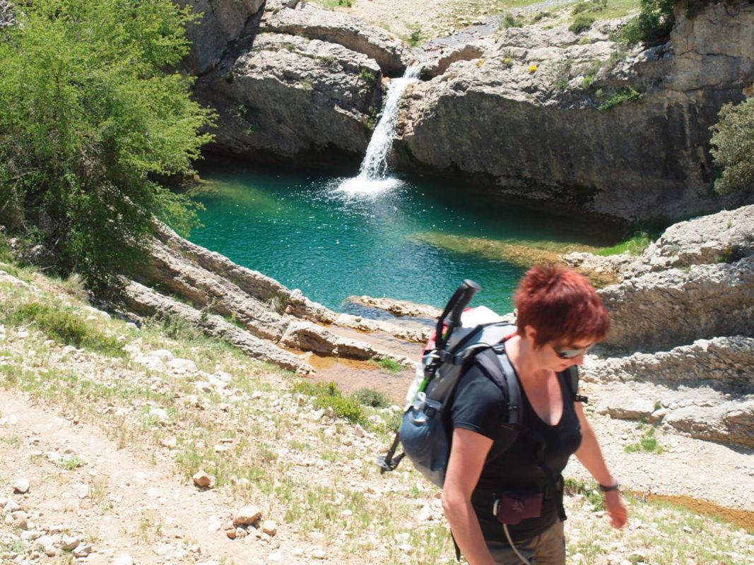 Bergantes river hike