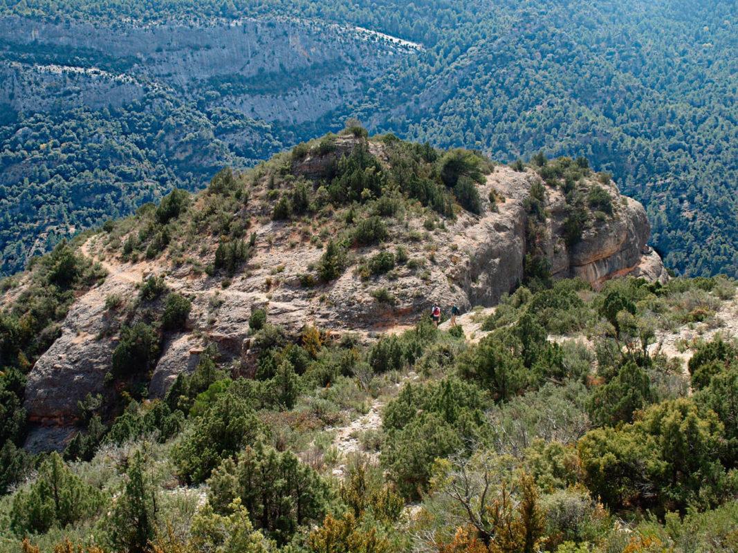 Descent from Penyagalera