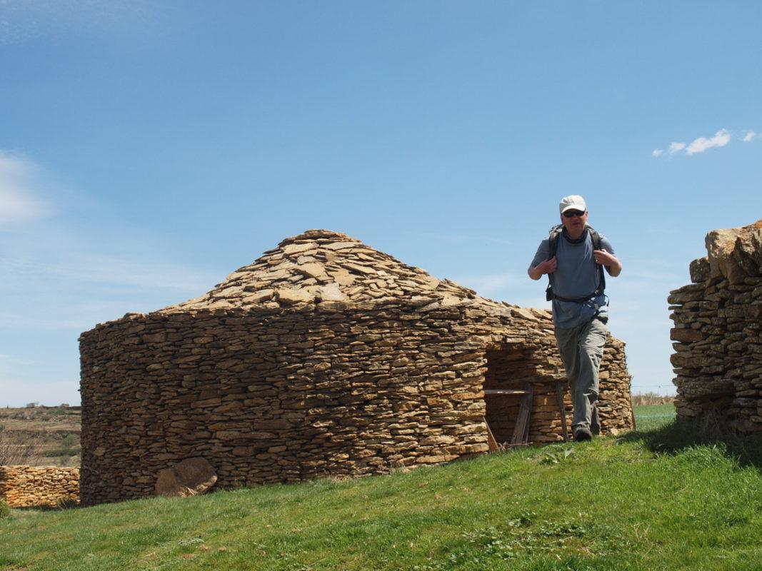 Dry stone walling in Maestrazgo
