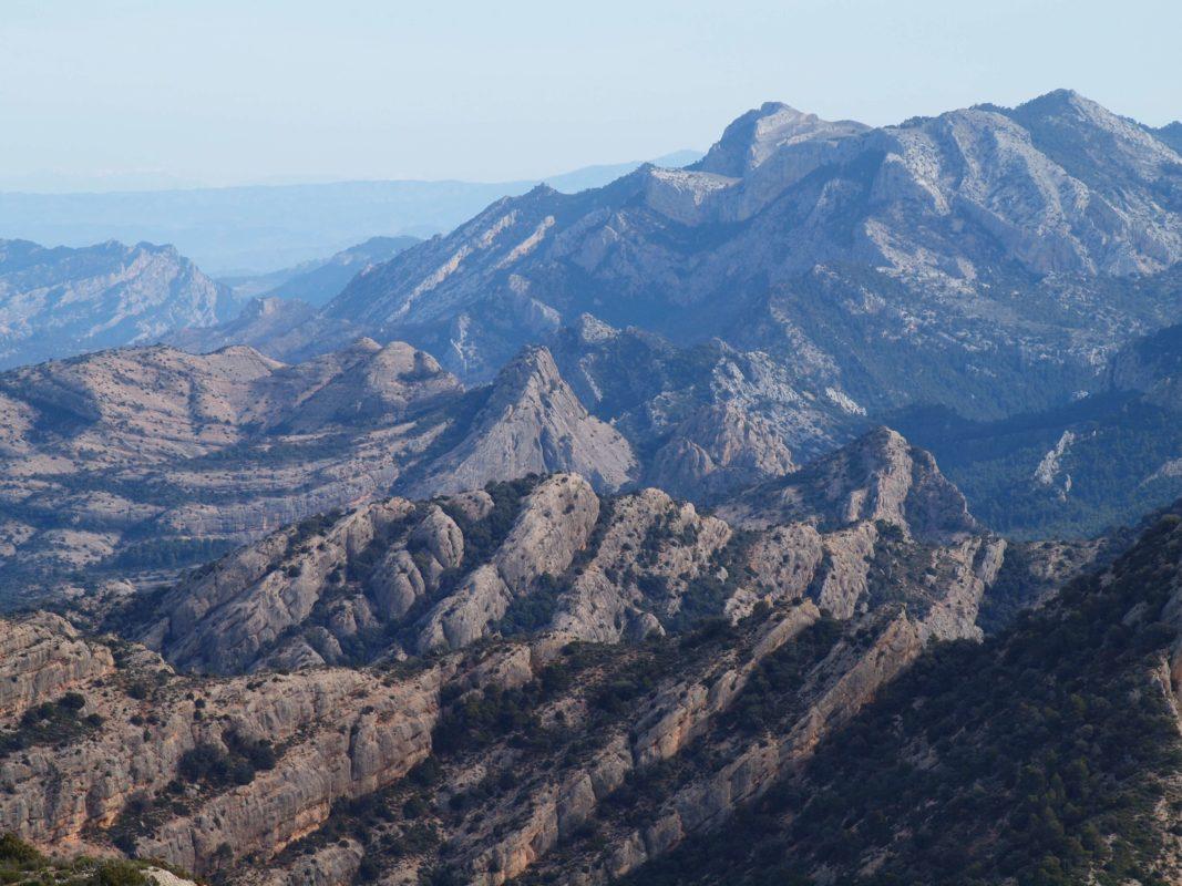 Els Ports mountain range