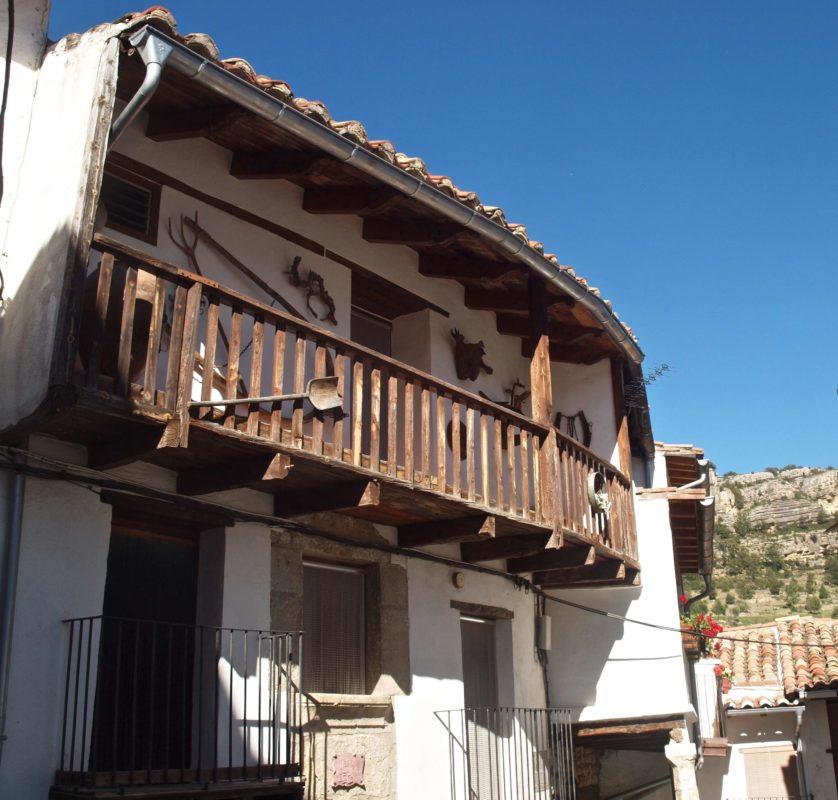 Fredes medieval village
