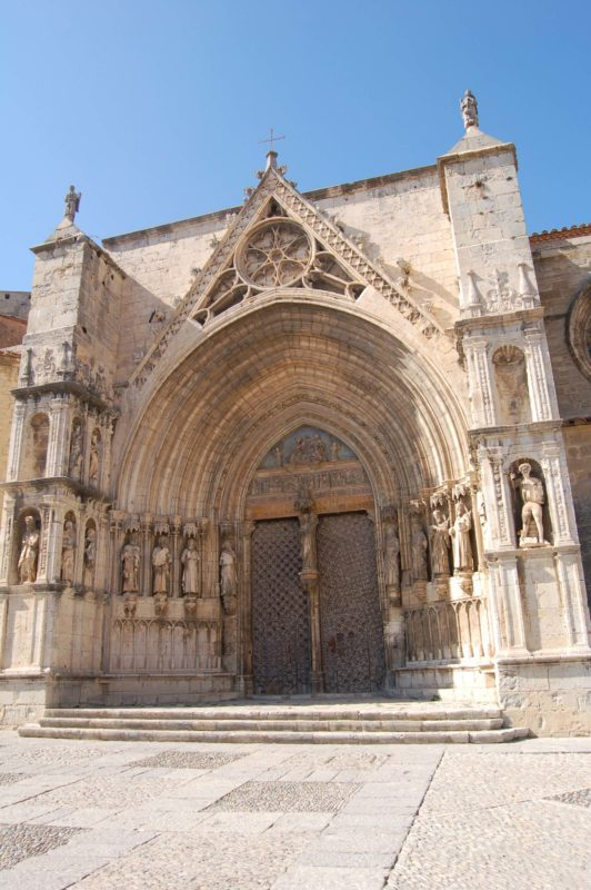 Morella cathedral