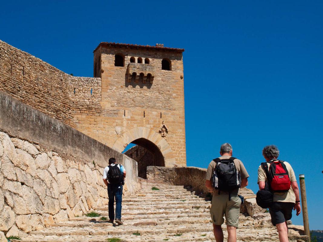 Morella village wall entrance