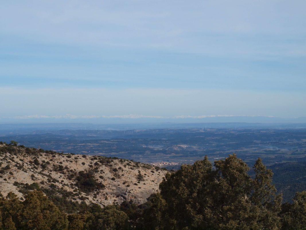 Pyrenees from penyagalera