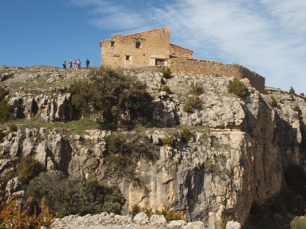 Rough scenery around Cantavieja
