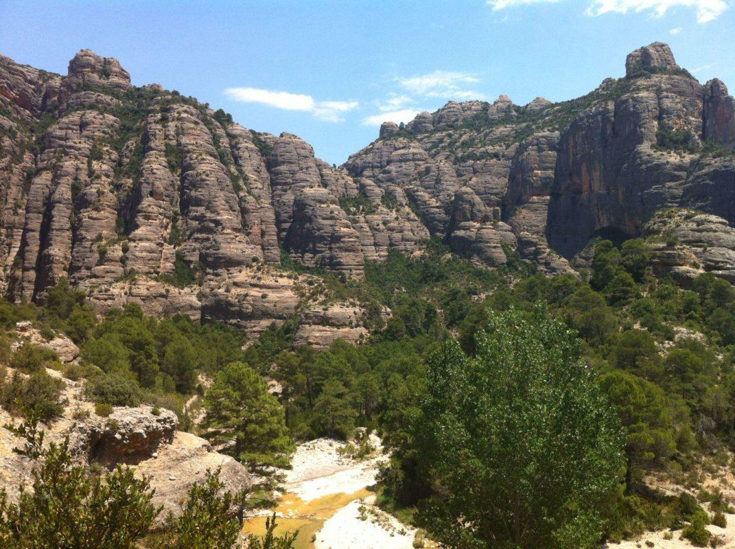 Spanish Mediterranean mountain range