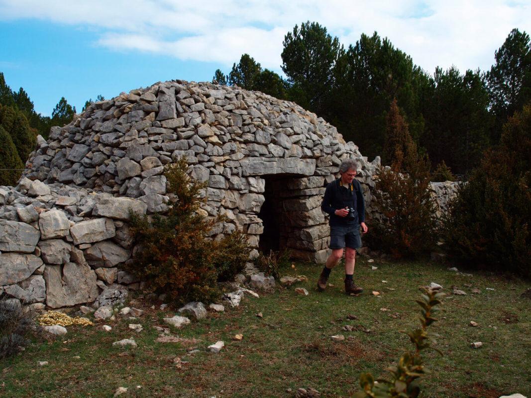 Traditional shepherd refuge