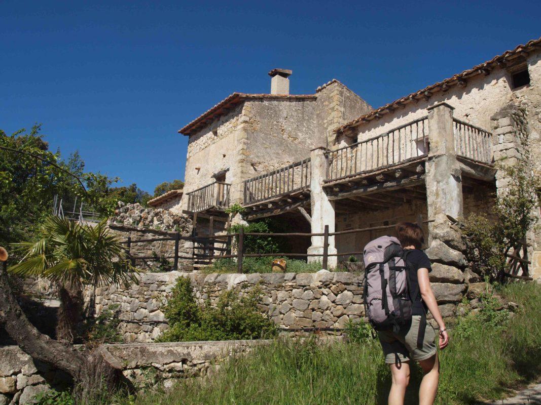 Local Spanish farm house