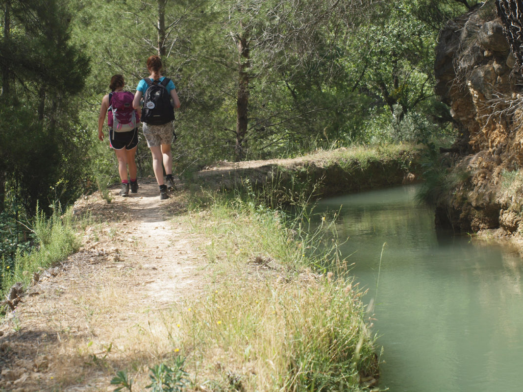 Walking from Cuevas Canart