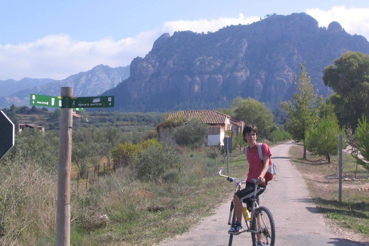 Greenway cycling The Val de Zafan
