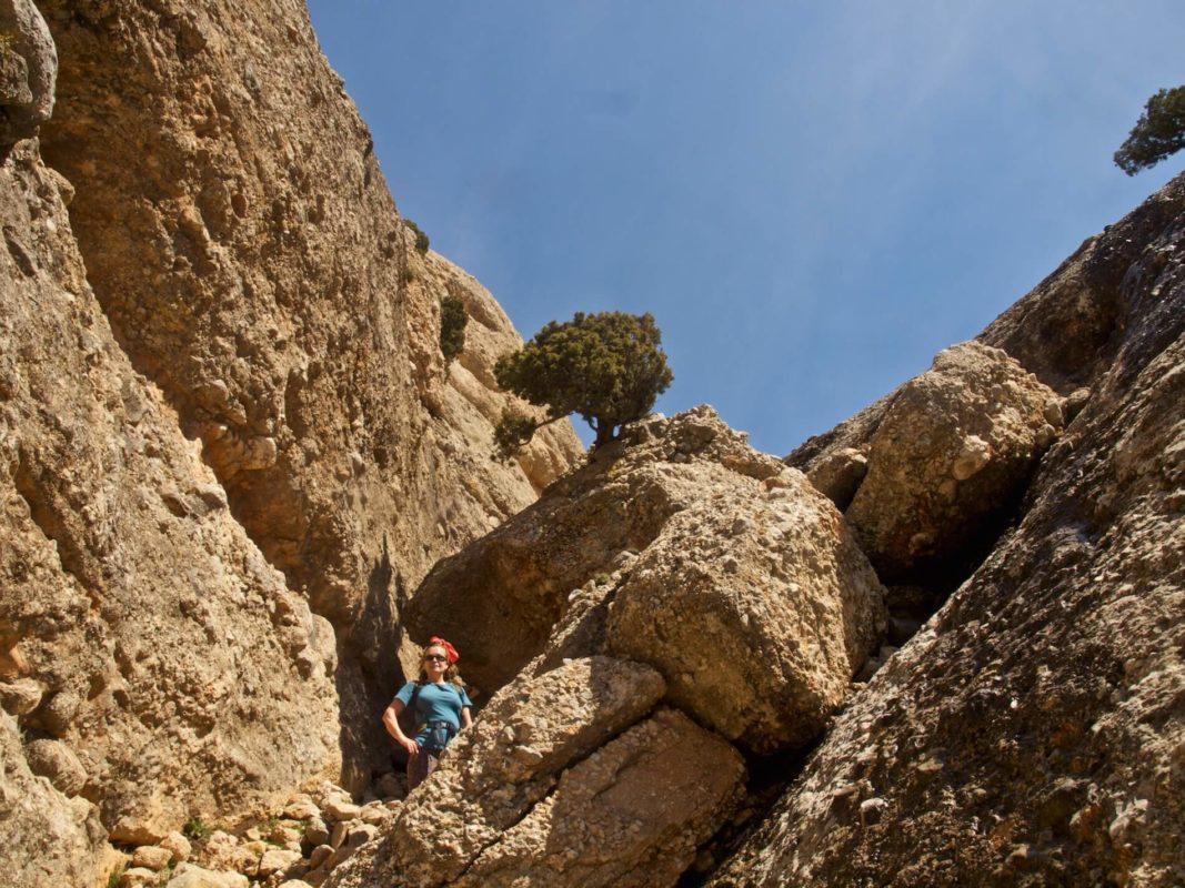Rocas de Benet ascent
