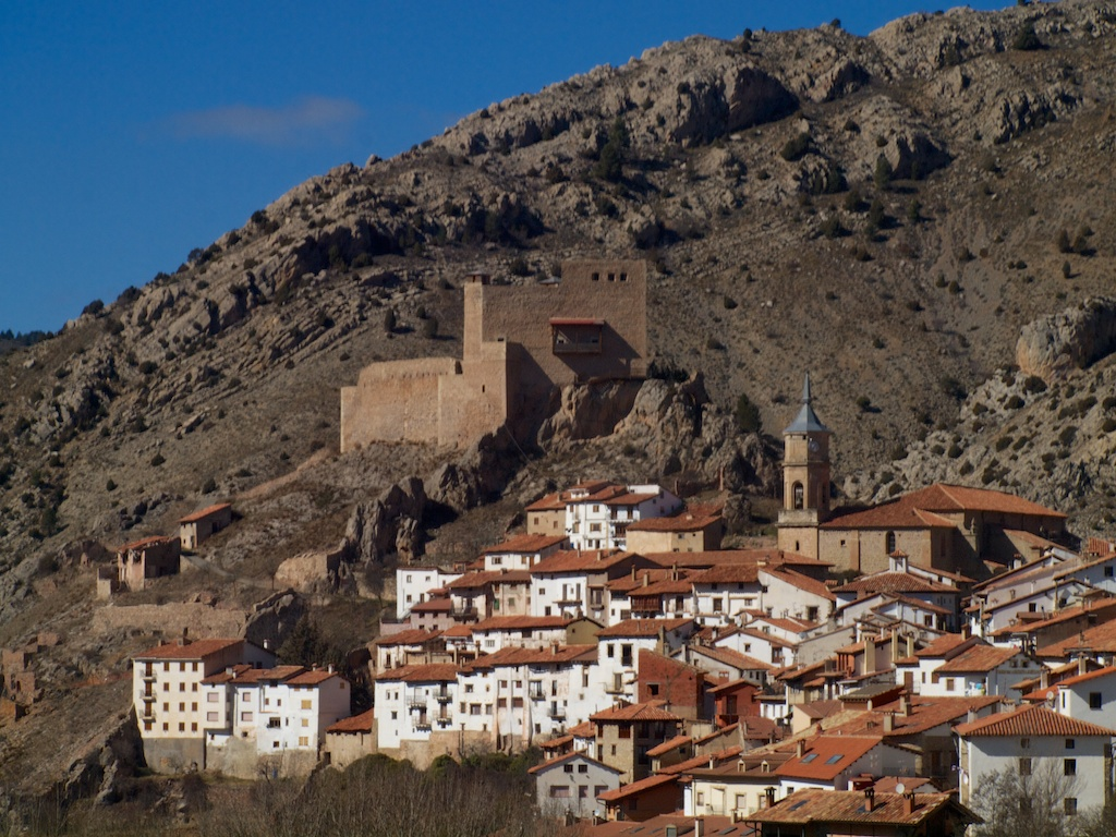 Alcala Selva moorish town