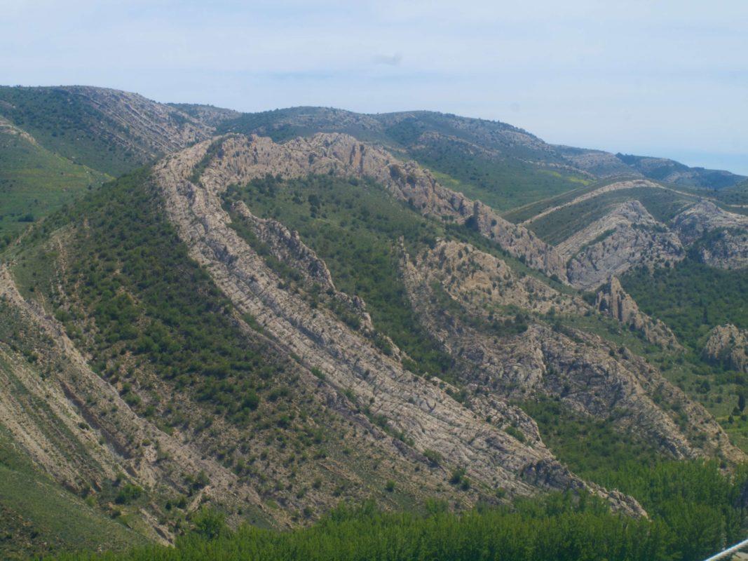 Aliaga Cretaceous scenery
