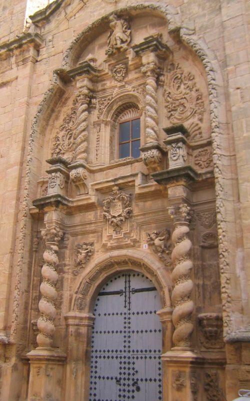 Barroco architecture Aragon