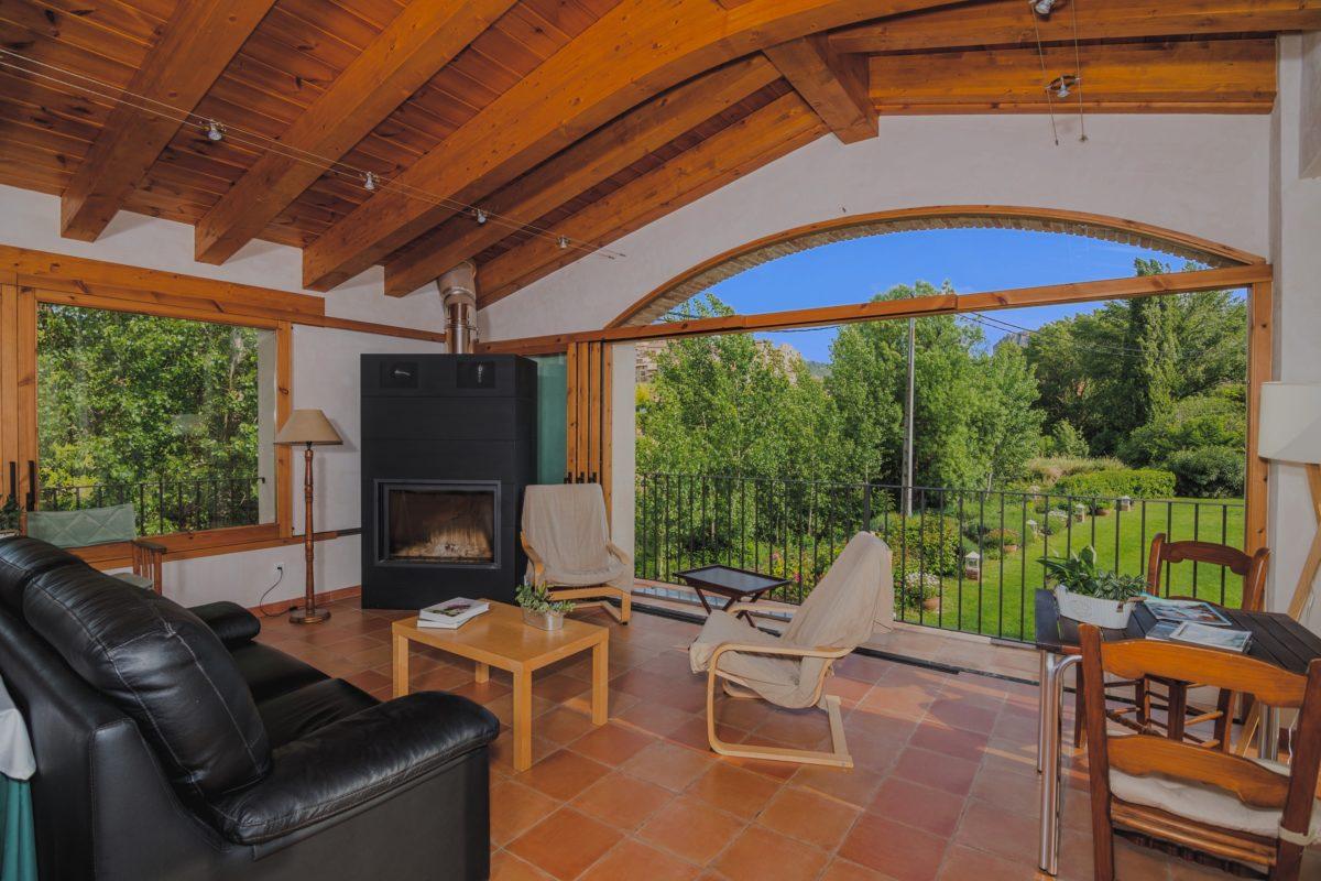 Beceite hotel Font del Pas facilities