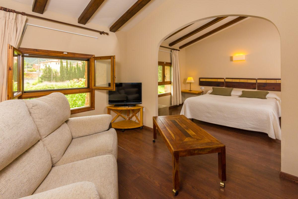 Beceite hotel Font del Pas room
