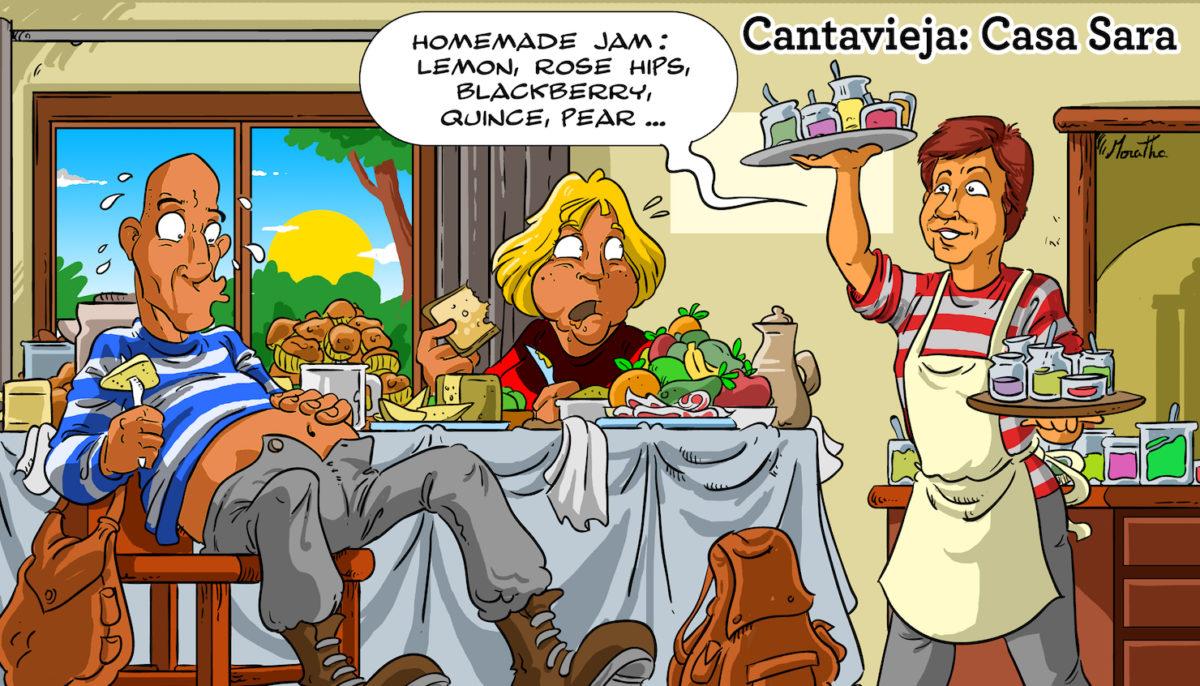 casa rural sara breakfast cantavieja