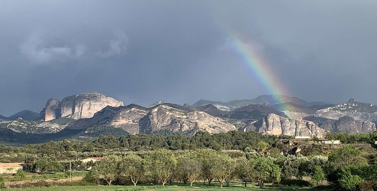 Els Ports rainbow