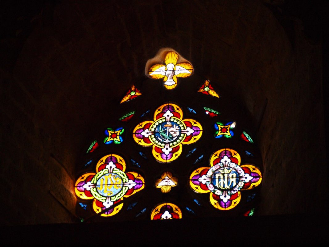 morella stained glass
