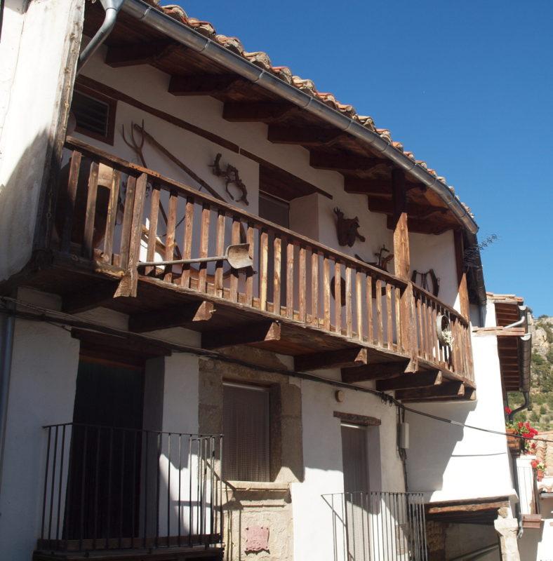 Spanish local architecture Vallibona