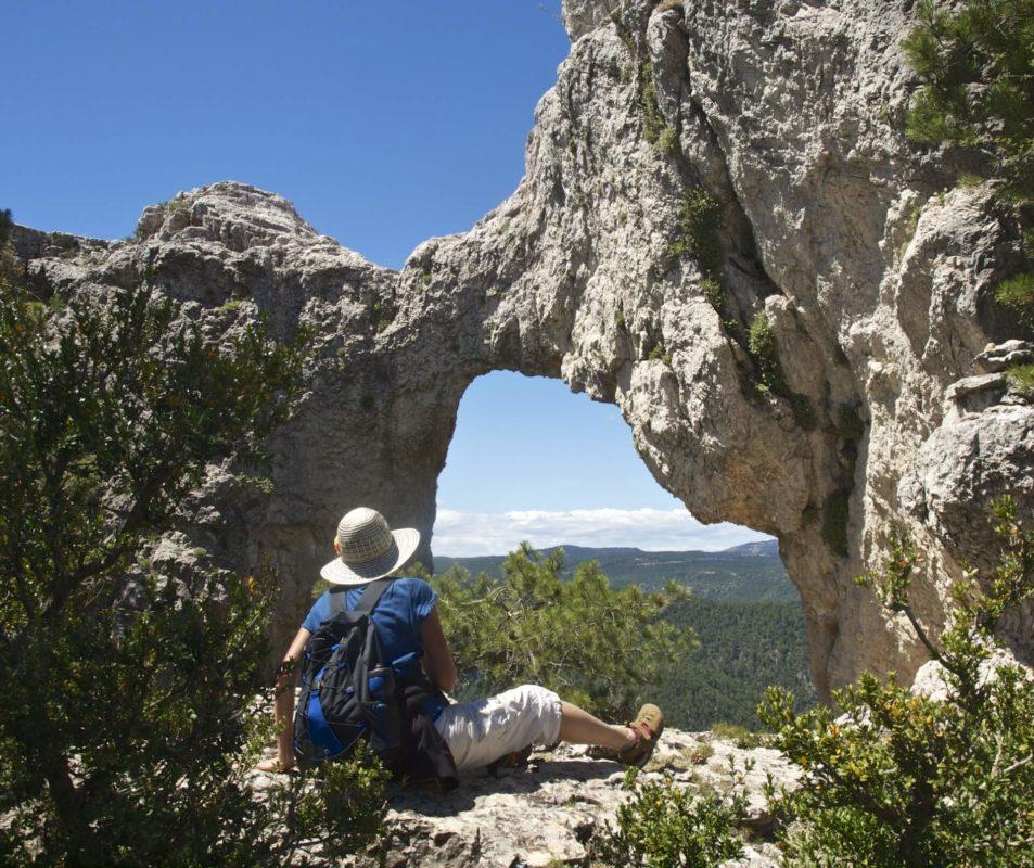 the majestic limestone massifs