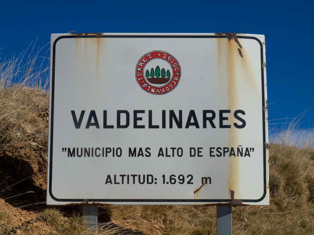 valdelinares highest municipality