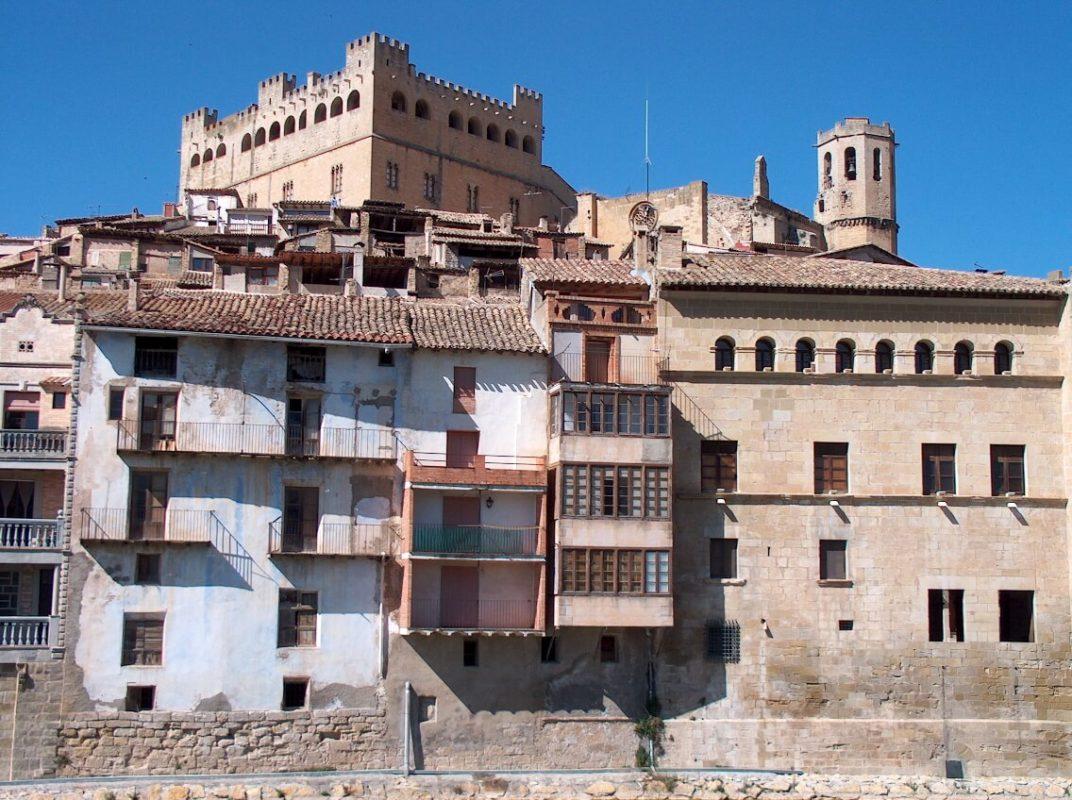 Valderrobres renaissance town hall